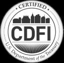 Certified CDFI badge