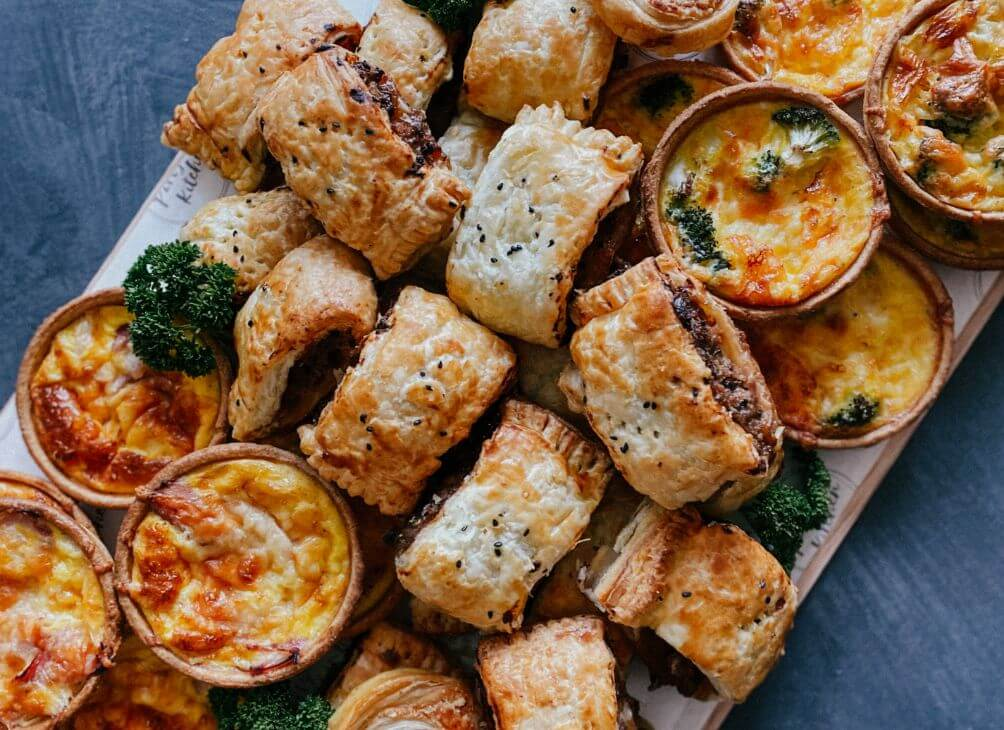 Savoury party platters