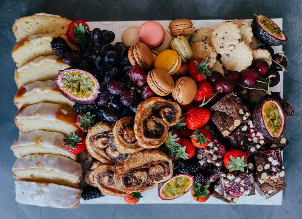 Sweet party platter