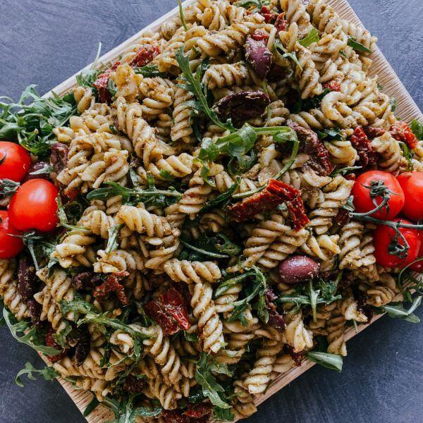 Pesto Pasta party platter