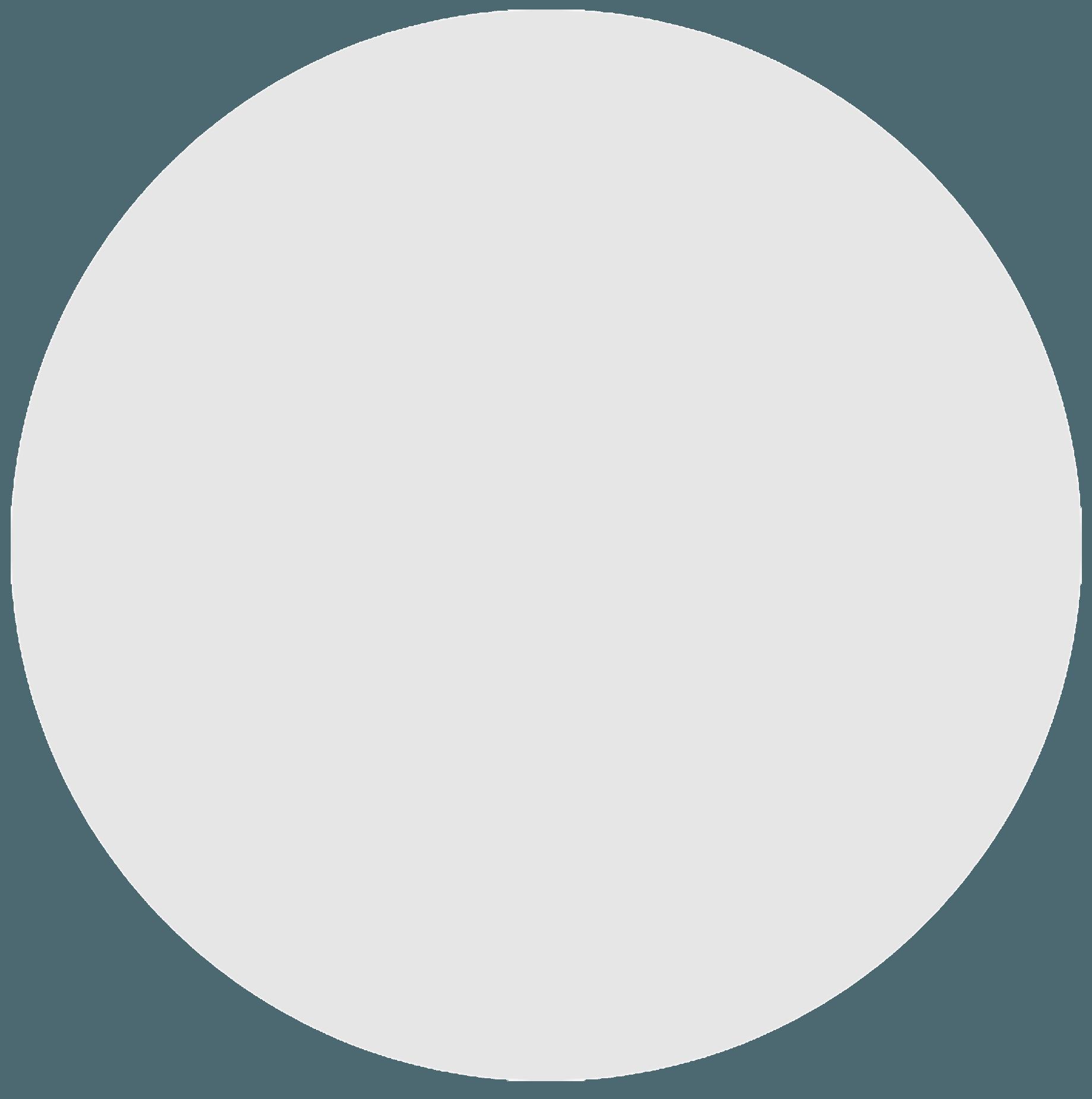 Large grey circle