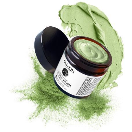 Oliveda matcha product