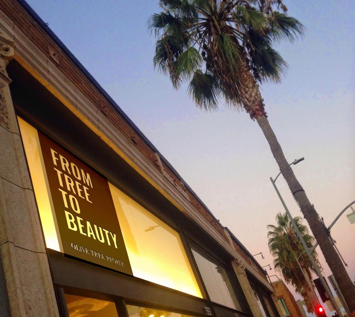 Olive Tree People store in Los Angeles