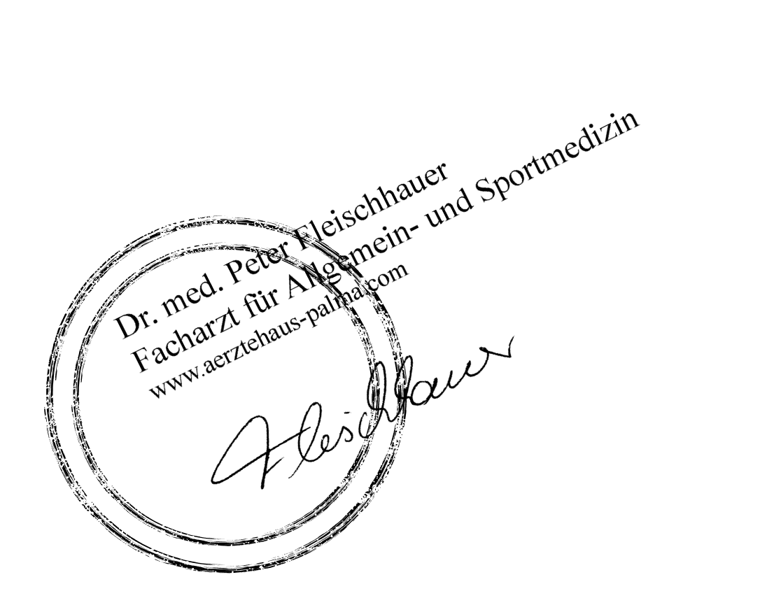 Medical seal of approval from Peter Fleischhauer