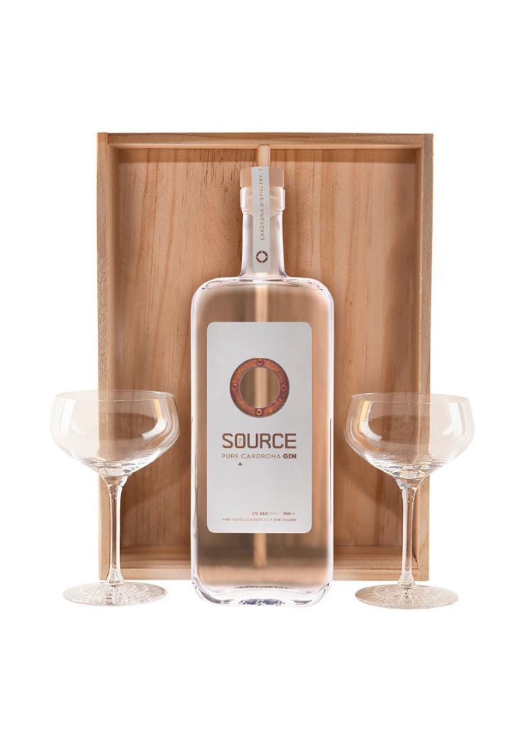 The Source & Martini Glass Set