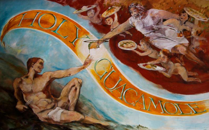 Holy Guacamole Mural