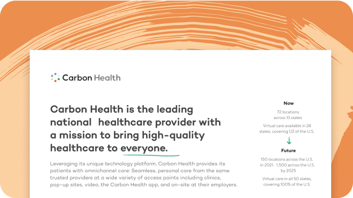 Carbon Health overview