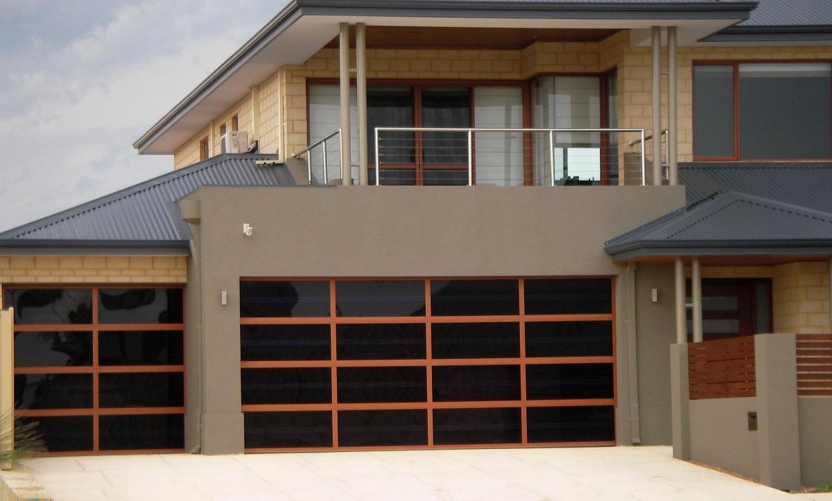 Design a door - Orange & Black