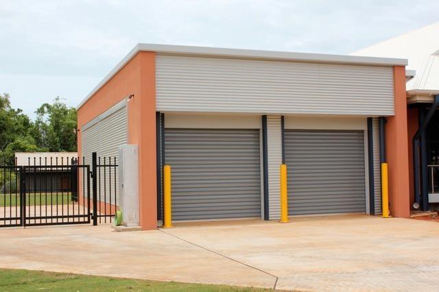 commercial industrial roller garage door
