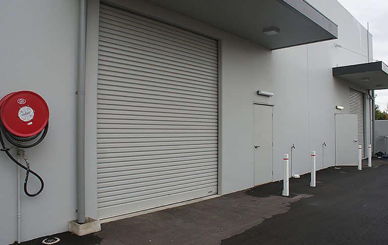 grey commercial industrial roller door for HD use