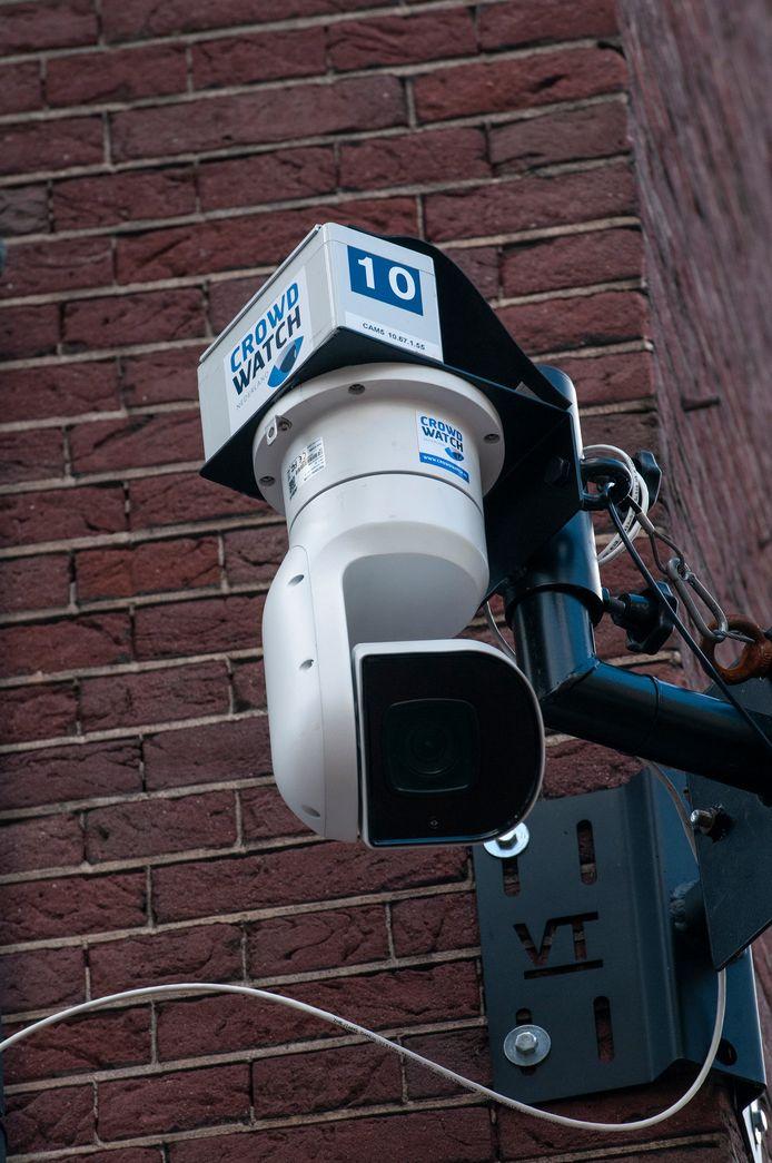 De slimme camera's in de Korte Putstraat