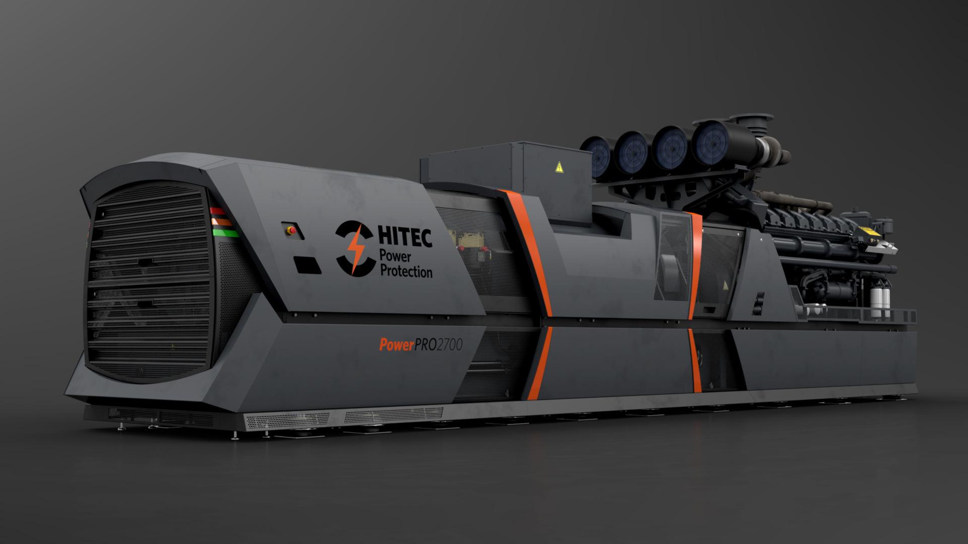 Technical Animation case | Hitec UPS system