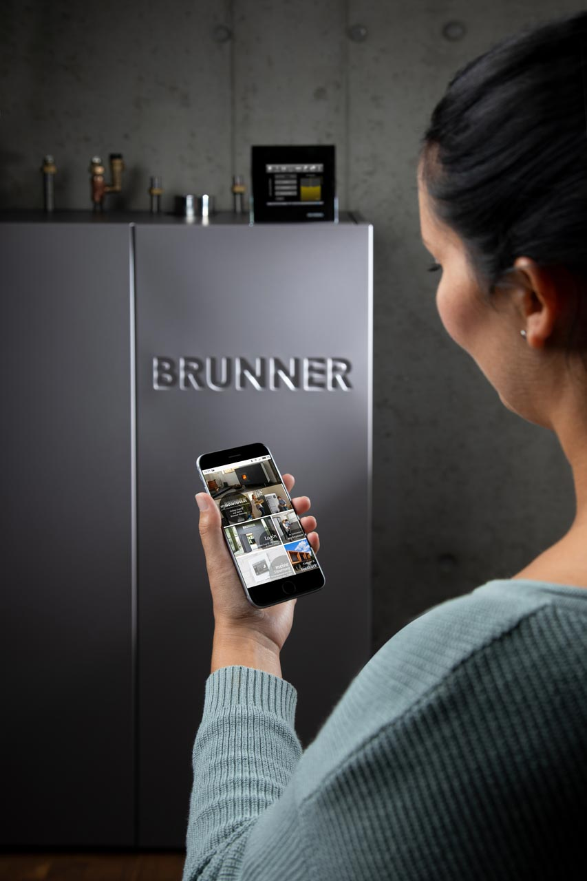 Brunner Pelletkessel BPH 4/15 mit App