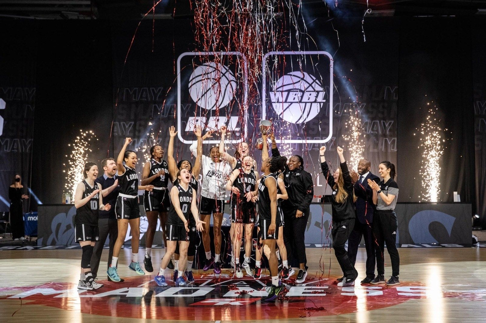 London Lions Women's Team crowned BBL Play Off Champions
