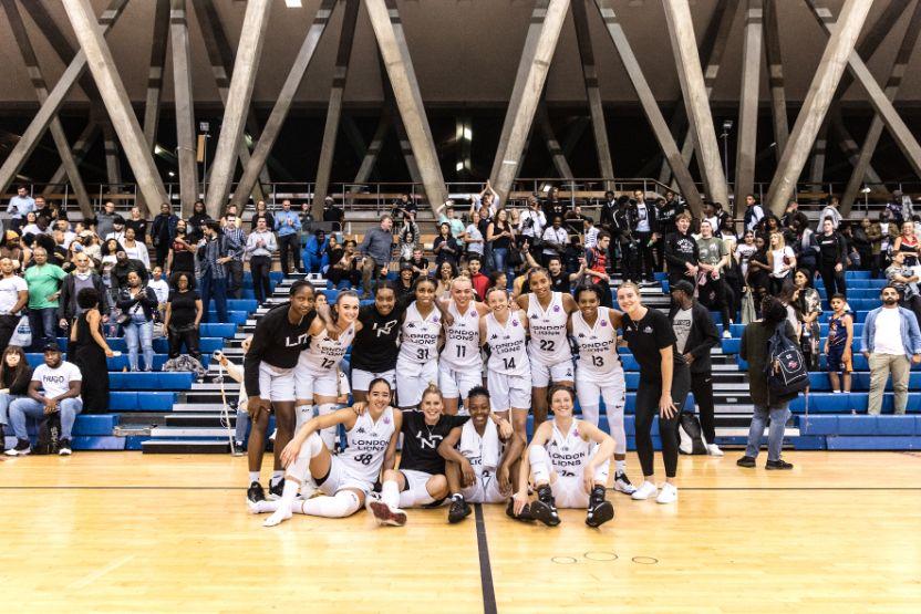 Lions Women vs Spar Gran Canaria in the first leg of their Eurocup qf