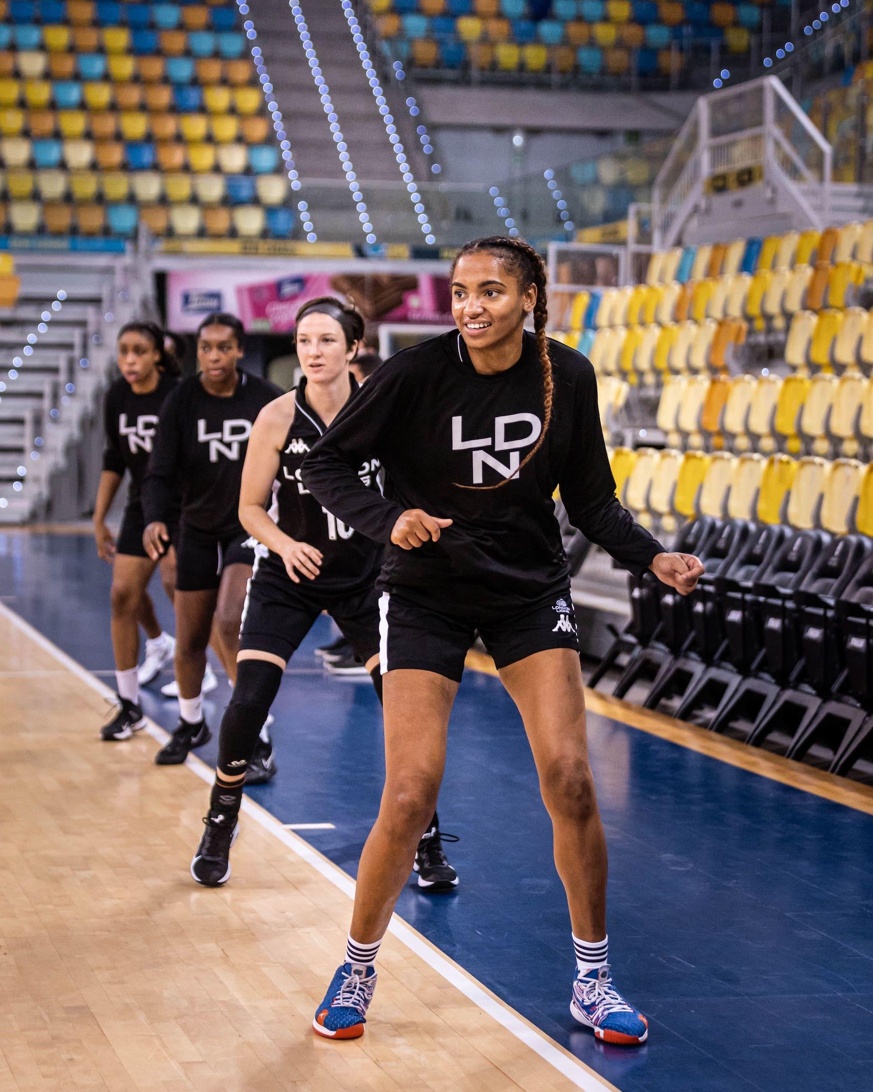 London Lions Women's Team Will be Tested in FIBA EuroCup Regular Season