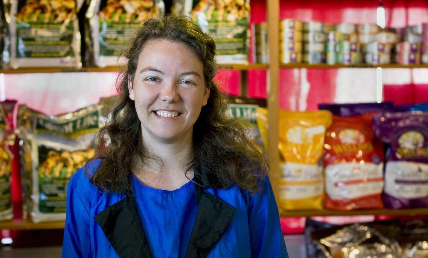 A customer in shop