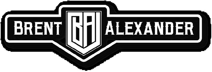 Brent white logo