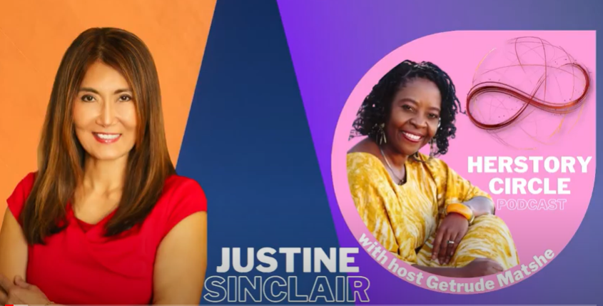Herstory Circle TV Podcast: Justine Sinclair