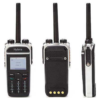 Hytera VHF Digital Radio 1024 CH LCD Keypad