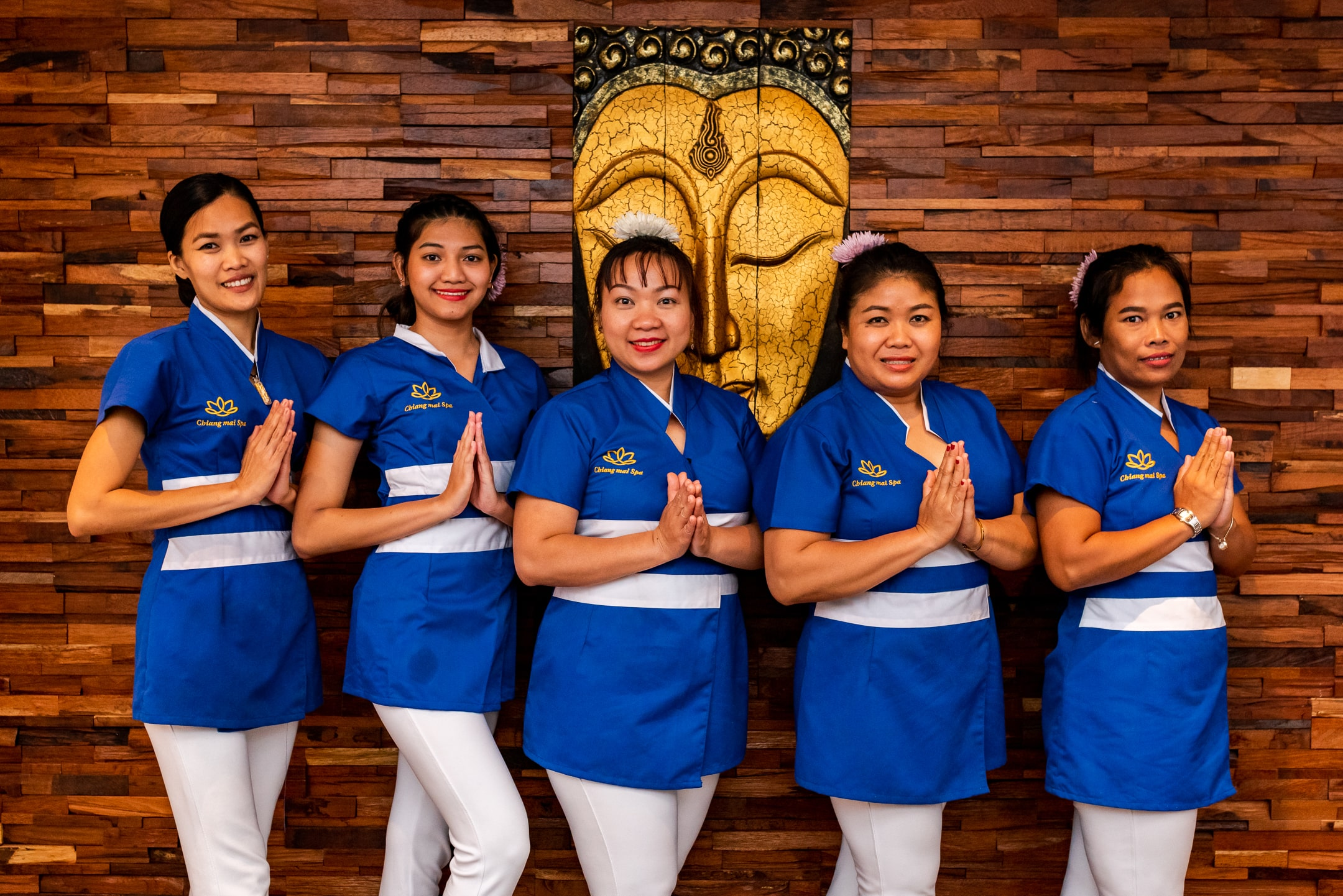 The Chiang Mai Spa team.