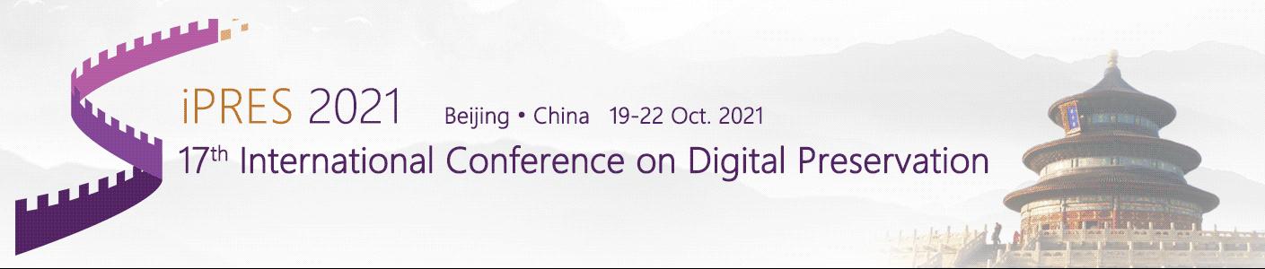 iPRES 2021 International Conference on Digital Preservation
