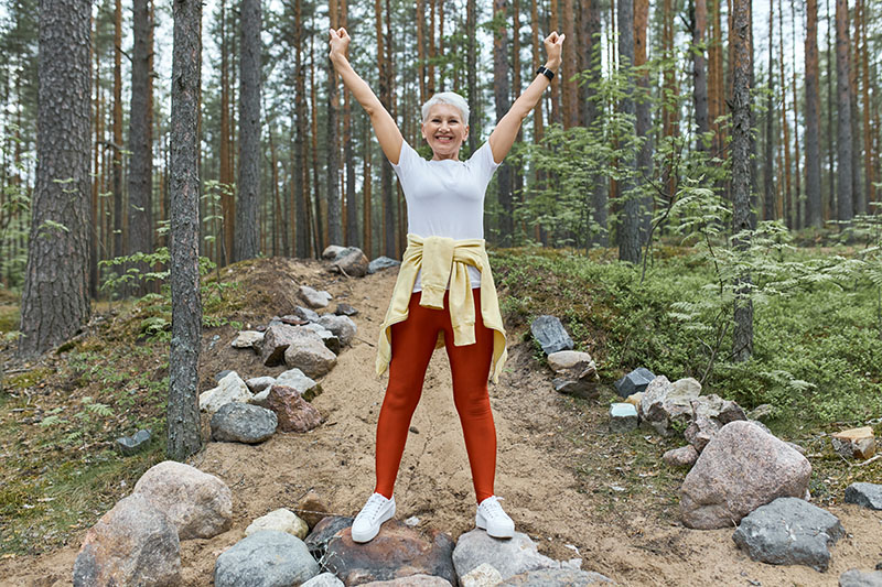 After a total knee replacement surgery, it's important to take the proper steps to regain the function required to return to your regular physical activities. With continued movement, you'll be able to improve your endurance and make continued progress in the recovery journey.