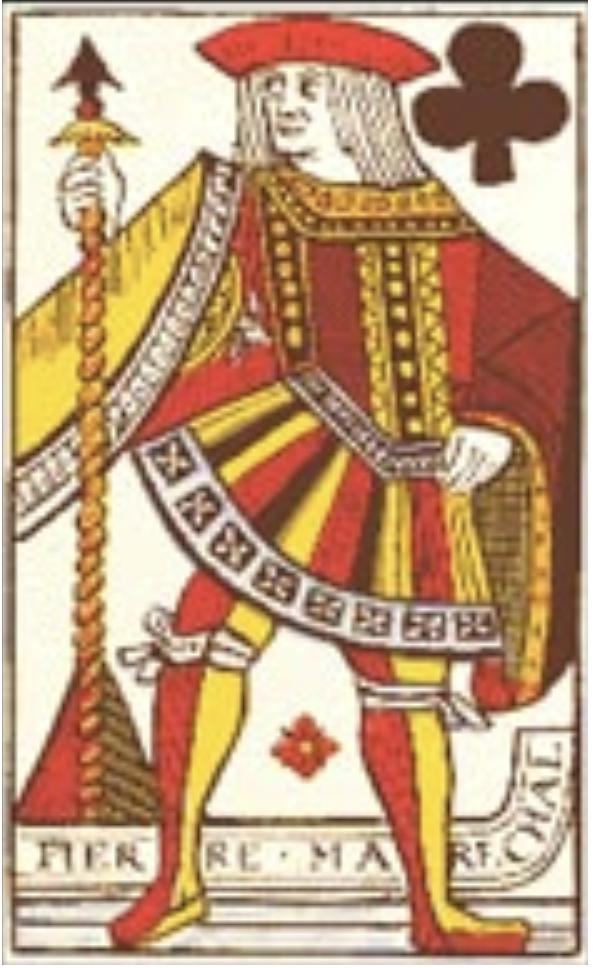 Rouen card maker Pierre Marécha, 1567