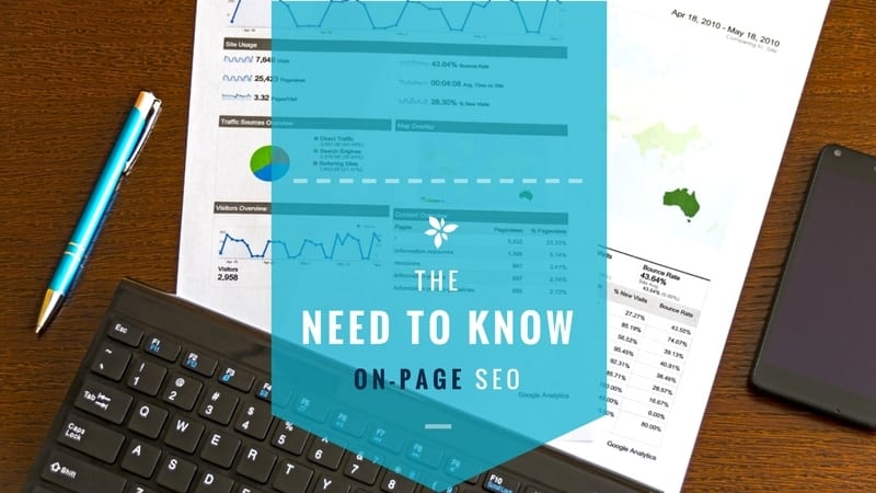 The need to know: On-page SEO