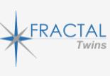 Fractal twins logo