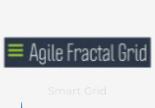 agile fractal grid logo