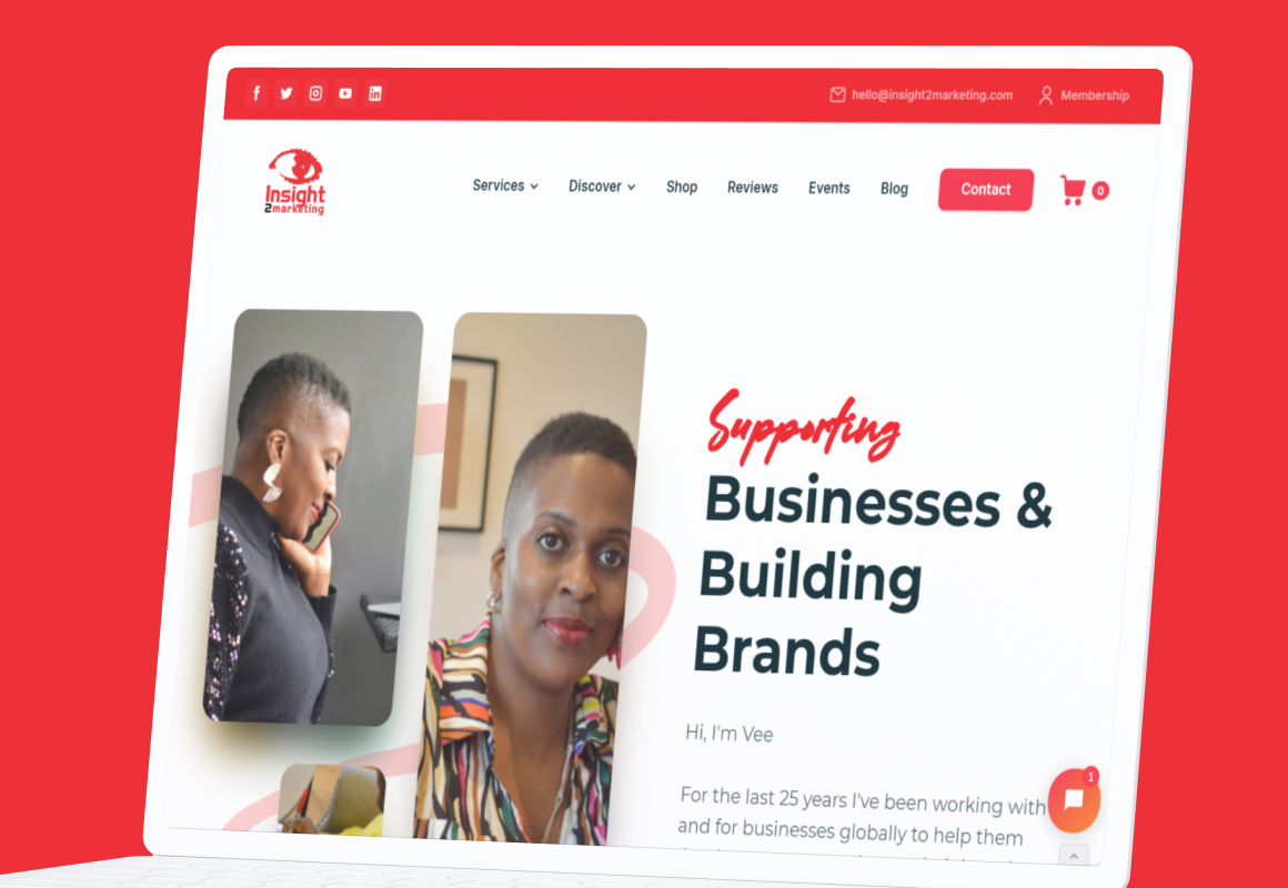 Supporting businesses & building brands