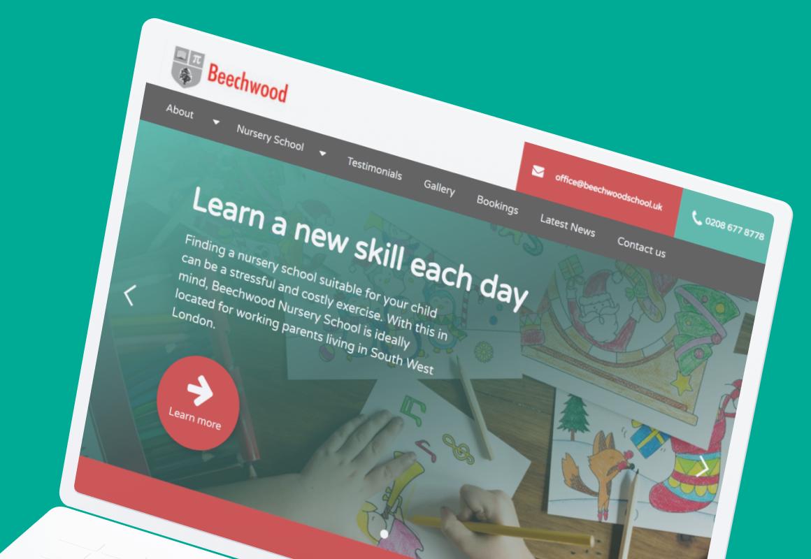 The Fresh Nursery School website.