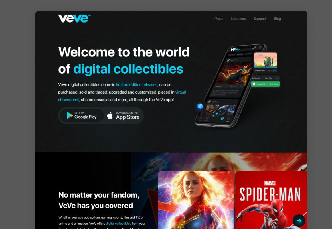 NFT Marketplace app & website design