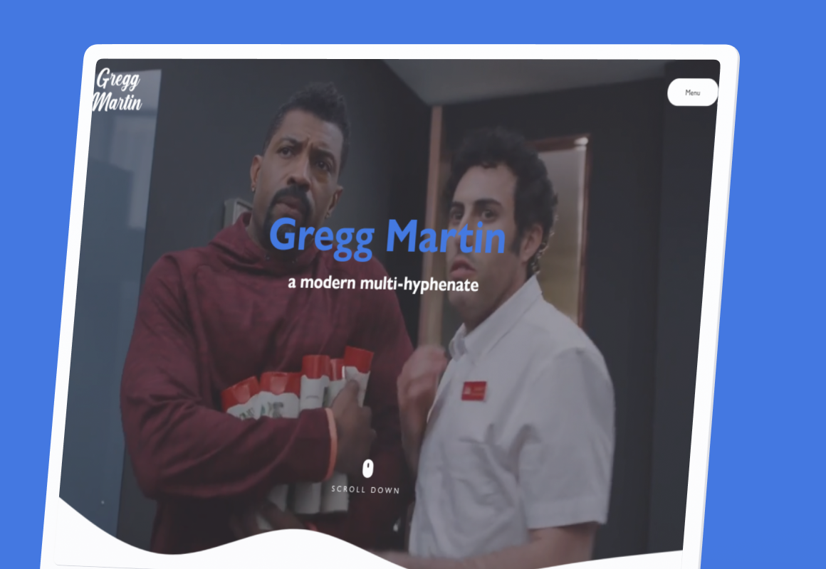 Gregg Martin is a Comedy Central actor, writer, producer & content creator