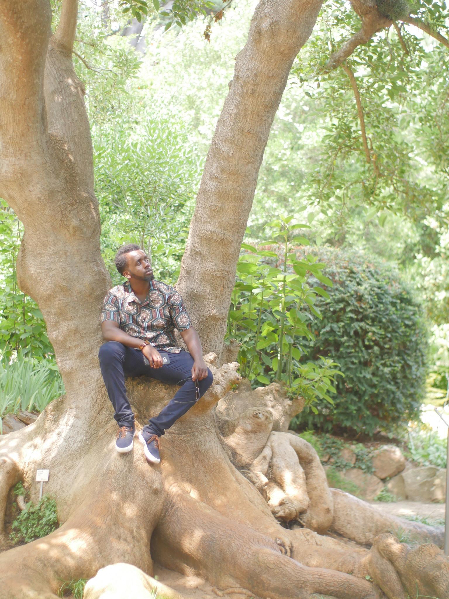 Derrick Kityo on Holiday
