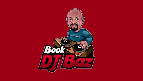 book dj baz logo