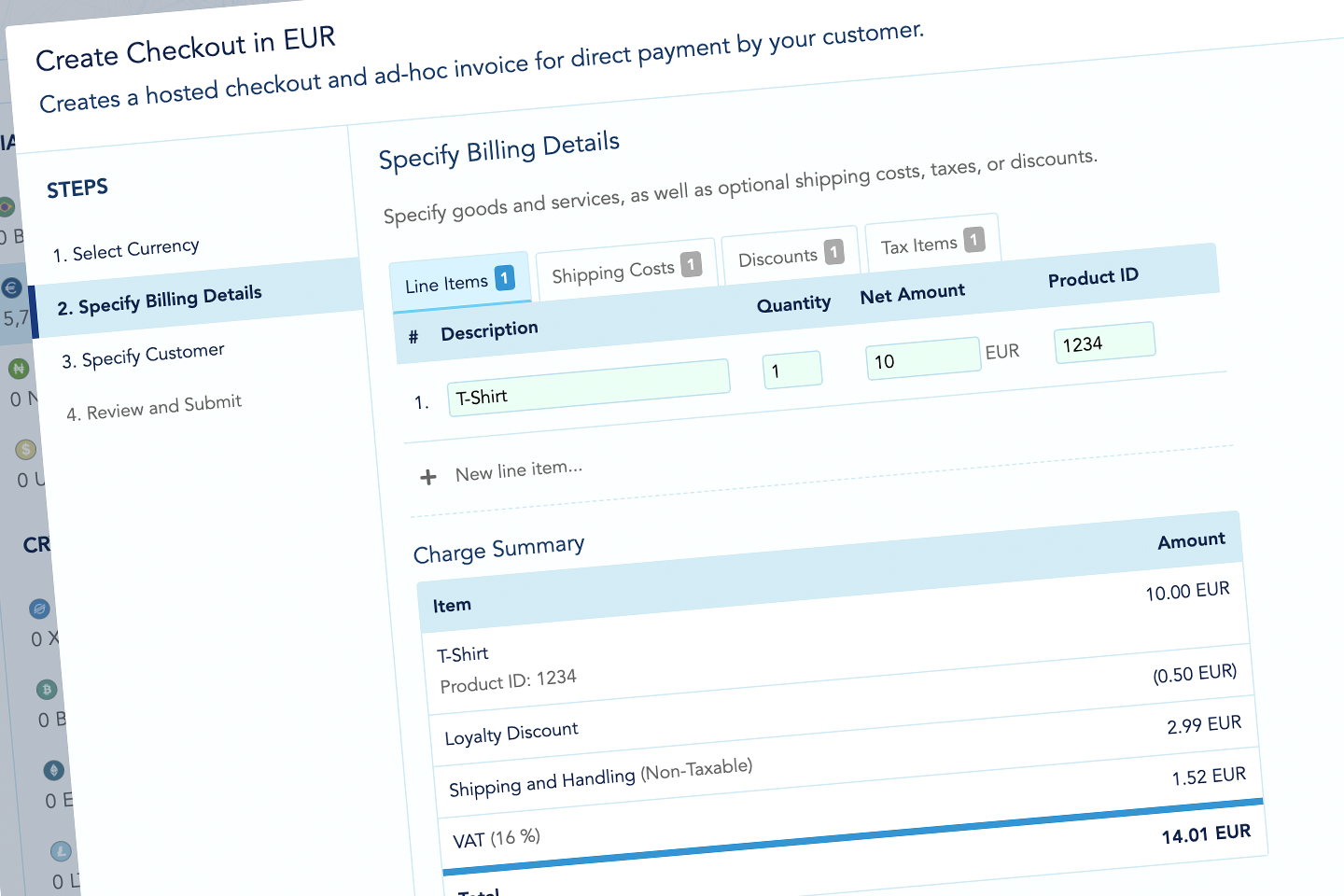 Easy and Compliant Billing