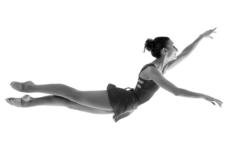Danseuse en apesanteur