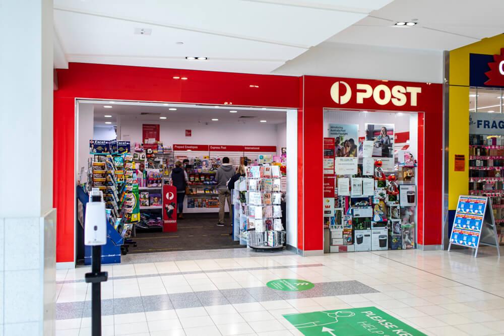 Australia Post shop front