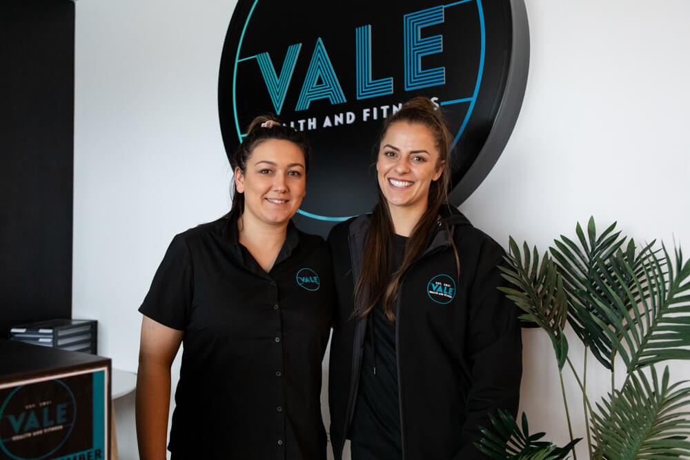 Vale fitness team members