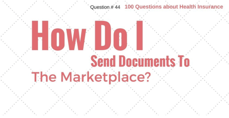 How do I send in documents to the marketplace?