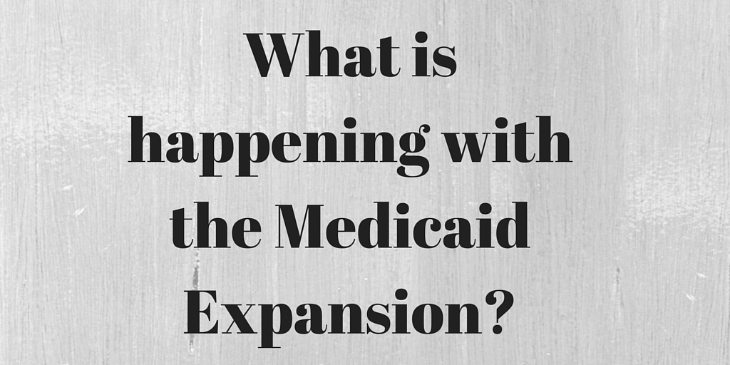 Question # 57 What is happening with the medicaid expansion?