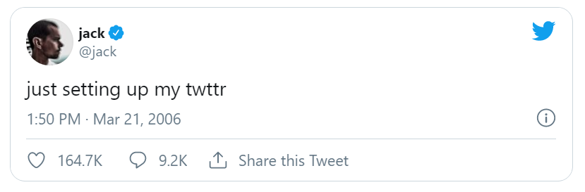Anyone can embed or otherwise copy and distribute this early tweet by Twitter co-founder and CEO Jack Dorsey, but only crypto tycoon Sina Estavi, who paid $2.9 million for it at auction, can claim ownership of the authenticated, creator-verified NFT…