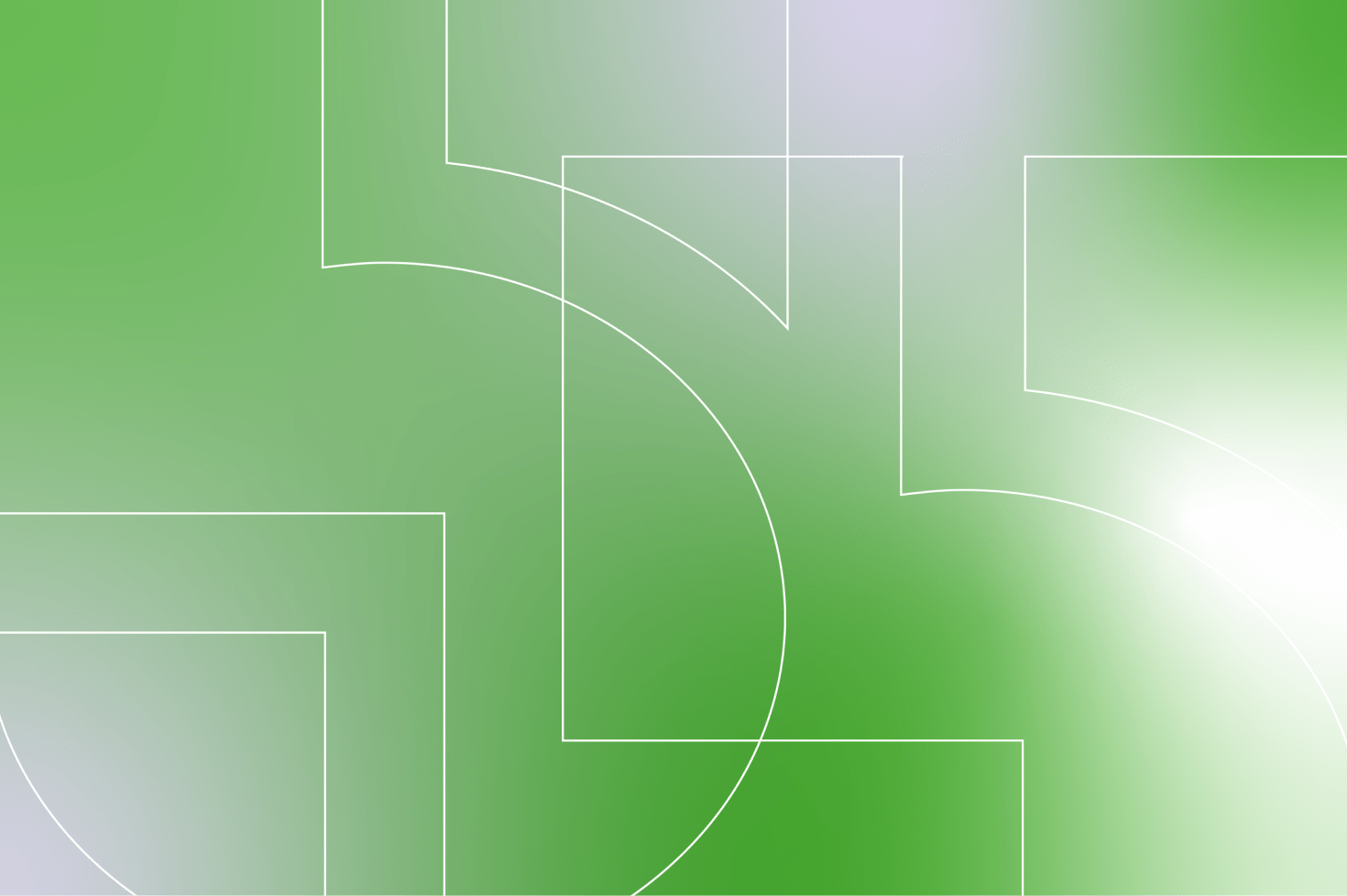 5four digital outline trademark on the green and white background