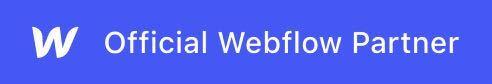 Webflow Official Partner logo