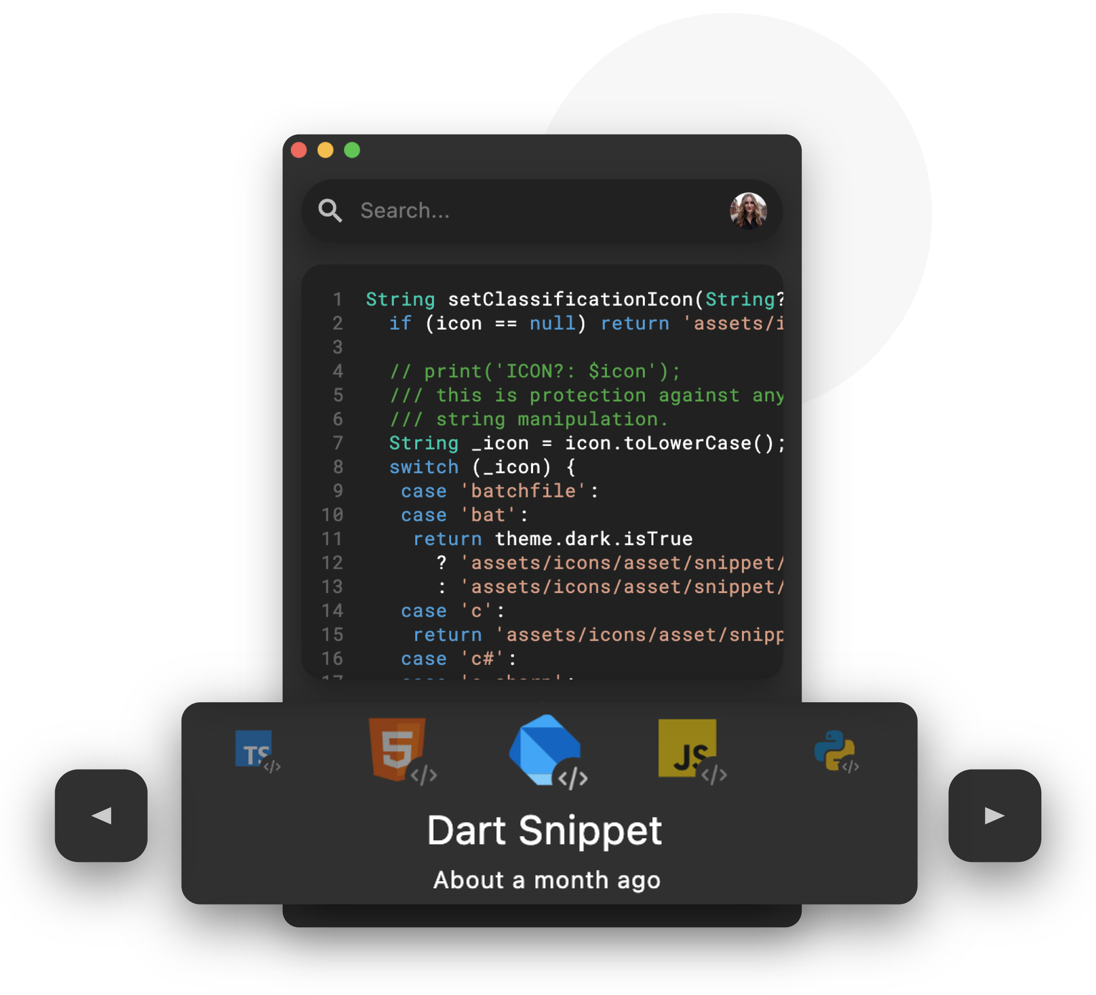 Save code from your IDE to the cloud gif
