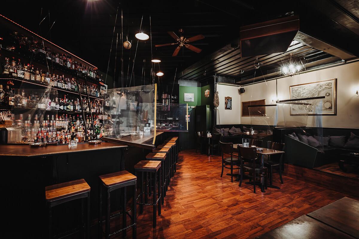 Innenansicht der Bar Capitol