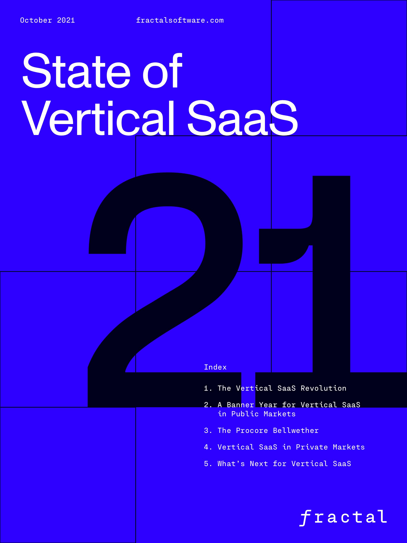State of Vertical SaaS 2021
