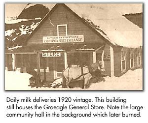 Graeagle Store (1920s image)